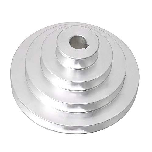 41mm bis 130mm Außendurchmesser 16mm Bohrung Aluminium 4 Stufen Pagoden Riemenscheibe für einen Typ-Keilriemen -