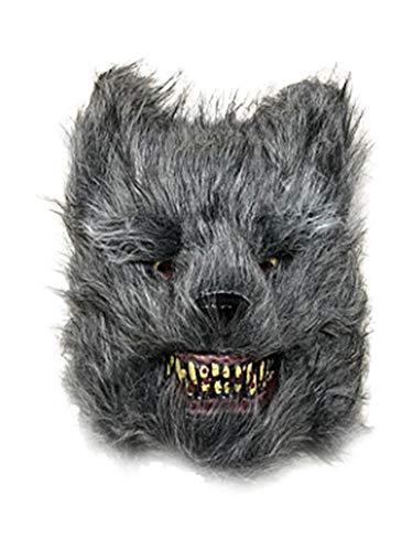 Für Wolf Kostüm Jugendliche - belukies for Masquerades Parties Grosse Wolf Kostüm Gruselige Masken Halloween Wolf Gruselige Maske