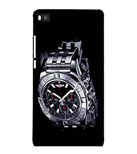 printtech Cool Watch Back Case Cover for Huawei Honor P8