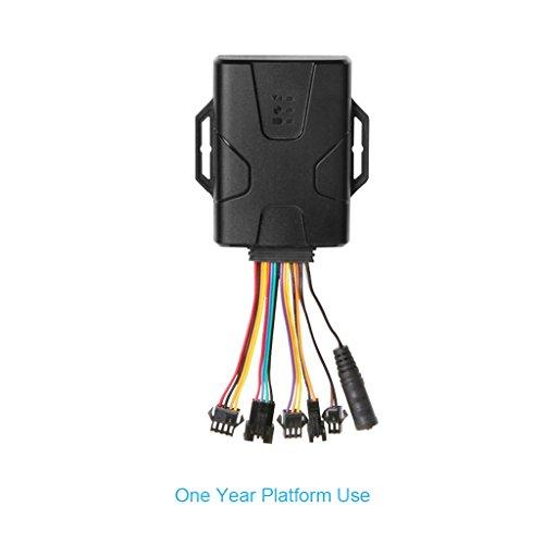 concox IP66Staub und Wasserdicht GPS Tracker Gerät GT800mit 50000Stück Datenspeicher