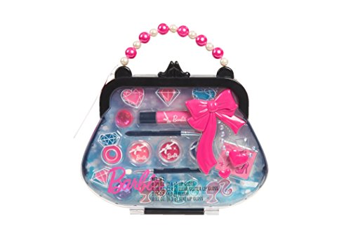 """Just Play Just Play Barbie Doll Icious Make Up Case """"Colors May Vary"""""""