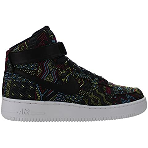 Nike Air Force 1 High BHM QS para Hombre Hi Top Trainers 836227 Zapatillas zapatos