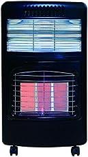 2-in-1 Ceramic Cabinet Gas Room Heater