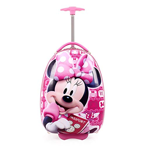 Kinder Trolley Eierschale Cartoon niedlichen Koffer Koffer , Minnie_16 Zoll