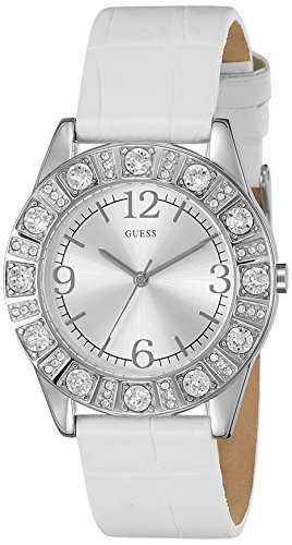 Guess Analog Silver Dial Women'sWatch - I95263L1 image