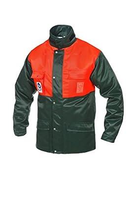 Schnittschutzjacke nach EN 381-5 Gr. L Gr. 54-56