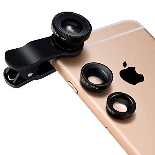 Obiettivo di macchina fotografica cellulare, Lenti...