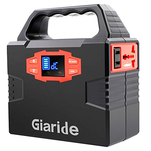 GIARIDE 150Wh Solar Battery Solar Power Generator