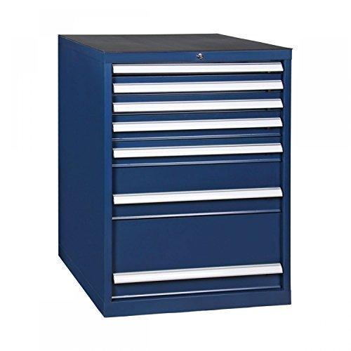 Werkzeugschrank, Schubladenschrank 7 Schubladen, blau