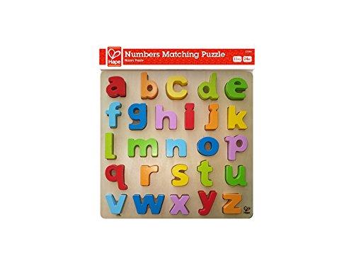Hape - Puzzle con alfabeto minúsculas (0HPE1503)