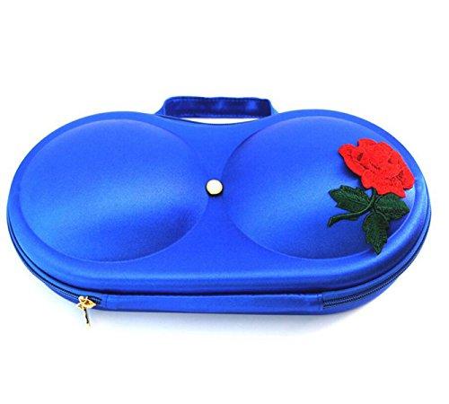 Paquet De Sous-vêtements Lingerie Paquet De Sac De Stockage De Soutien-gorge Haut De Gamme,Blue