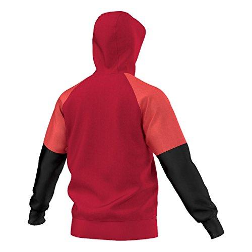 adidas Kapuzensweat Con16 Hoody Kapuzenpullover scarlet/black/bright red