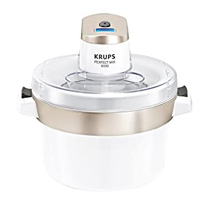 Krups GVS241 Perfect Mix 9000 Eismaschine, 1,6l, Fassungsvermögen