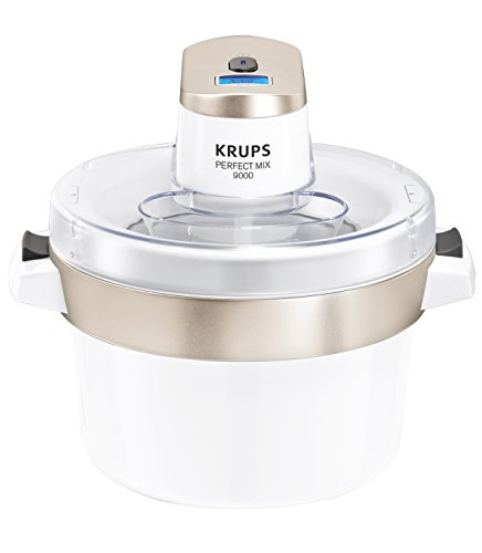Krups GVS241 Perfect Mix 9000 Eismaschine, 1,6l, Fassungsvermögen -