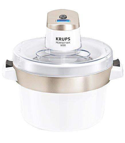 emma eismaschine Krups GVS241 Perfect Mix 9000 Eismaschine, 1,6L Fassungsvermögen