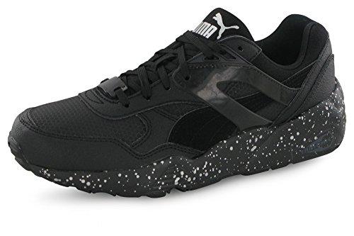 Puma R698 Speckle noir, baskets mode enfant Noir