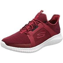 Hombre Rojos Verano Skechers Con Zapatos De Para Skech Cordones R8qRdw