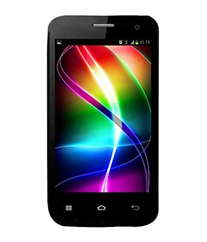 "(CERTIFIED REFURBISHED) Swipe Sonic EVDO(3G) (CDMA+GSM) 4""Inch Android 4.1 Jelly Bean Smartphone- Black"
