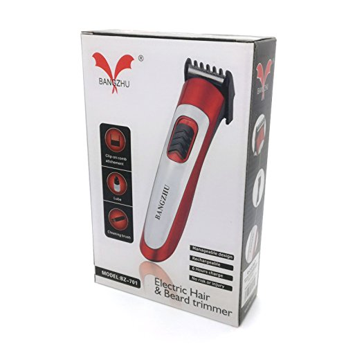 Bart Haar Trimmer rot BZ-701 Haarschneidemaschine (Bärte Und Haare)