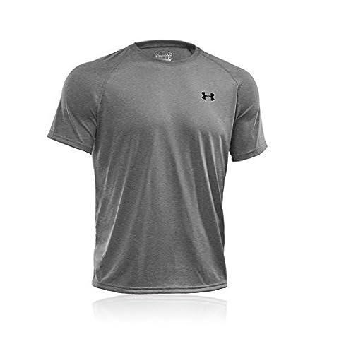 Under Armour Men's Tech Short-Sleeve T-Shirt, True Grey Heather, Small