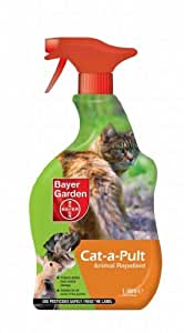 Bayer Garden 80232195 - Cat-A-Pult, repellente per animali pronto per l'uso, 1 l