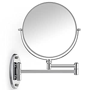 double sided bathroom mirror cosprof bathroom mirror 10x 1x magnification sided 18183