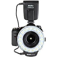 Meike - Flash de anillo macro para cámaras réflex Nikon