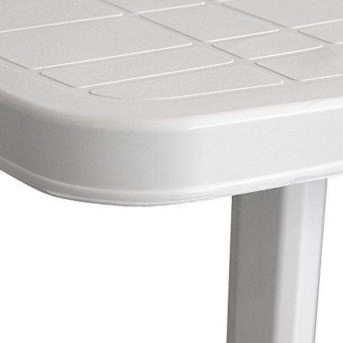 Einfaches Set 6+1 Kunststoff in Weiß - 5