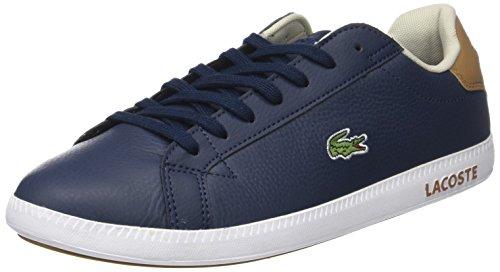 Lacoste Herren Graduate Lcr3 118 1 SPM Sneaker, Blau (Nvy/Lt BRW), 46 EU