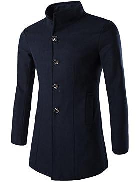 Ropa de abrigo para hombre, RETUROM Moda caliente espesar el abrigo de la chaqueta de la chaqueta de los hombres...