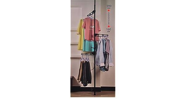 Sobuy teleskop garderoben kleideraufbewahrungssystem