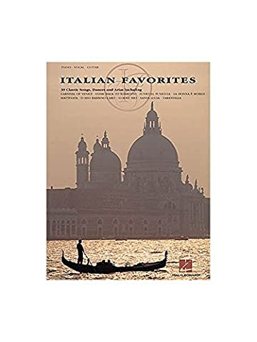 Italian Favorites Arranged For Piano And Vocal. Partitions pour Voix, Accompagnement Piano