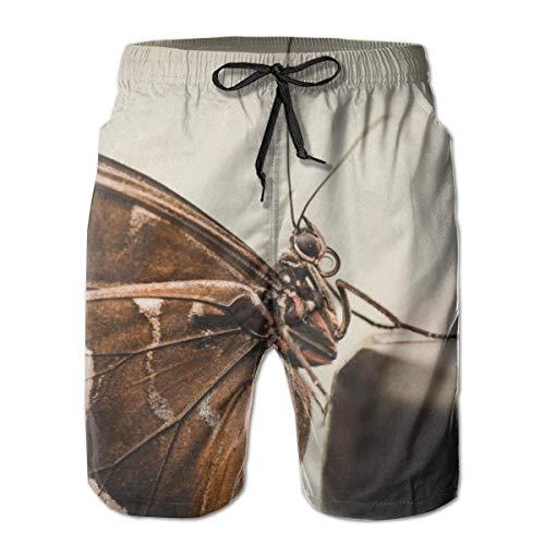 Men's Swim Trunks Butterfly Beautiful Animal Surfing Beach Board Shorts Swimwear X-Large Butterfly Bootcut Jeans