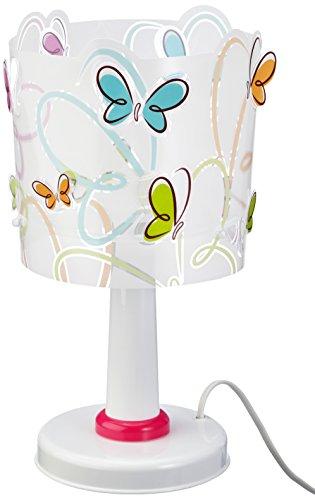 Dalber 62141 - Lámpara de sobremesa, diseño mariposas