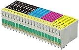 First Call Inks Ink Cartridges–Compatible with Epson Stylus Printers, 420, SX425435W, SX440W, SXW, SX, SX445W, SX525WD, SX535WD, SX620FW and Epson Stylus Office B42WD, BXF, BX305FW, BX305320FW, BX525WD, BX535WD, BX625FWD, BX635FWD, BX925FWD, BX935FWD 20 inchiostri
