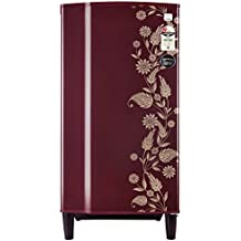 Godrej 182 L 2 Star Direct-Cool Single-Door Refrigerator (R D GD 1822 PT 2.2 Scr Drmn, Scarlet Dremin)