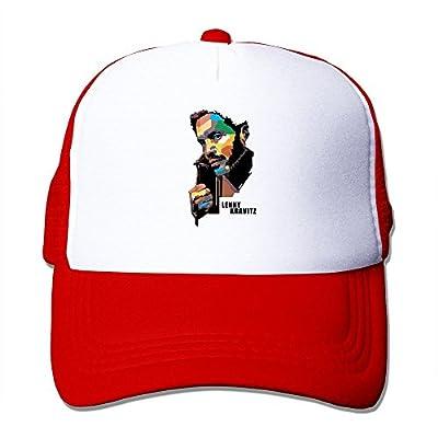 XCarmen Ash Lenny Kravitz American Singer California Cool Hat Style Red von XCarmen bei Outdoor Shop