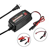 AST Works 12V 5A Smart Battery Charger Microcomputer Control Automatic Lead Acid AGM