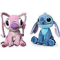 Jouet FP Stitch Stitch Stitch Peluche Stitch et Peluche Angel Lot de 2 30 cm 6e1d46