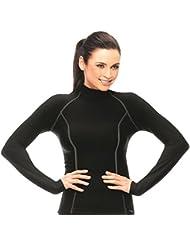Gwinner Thermo-Funktionsunterwäsche Damen Langarm Shirt, Unterhemd perfect für Winter - und Skisport, ANATOMY VII