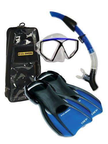 us-divers-travelers-captain-2-lx-snorkel-set-mens-7-10-mens-7-10-by-us-divers