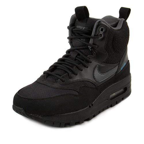 Nike Air Max 1Mid Sneakerboot schwarz schwarz, Schwarz - schwarz - Größe: 36