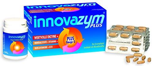 I/f-einheit (Premium Enzymprodukt Innovazym Plus| hochdosiert 150.400 F.I.P.-Einheiten pro Tablett | höchste Bioverfügbarkeit | Hergestellt von der deutschen Enzymforschung | mit Omega 3)