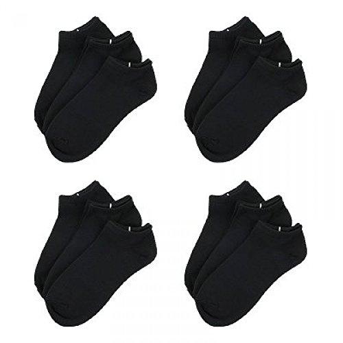 socks-12x-blanco-calcetines-tobilleros-para-hombre-tallas-40-46-algodon-100-comodo-transpirable-y-an