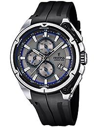 Festina F16882/3 - Reloj de pulsera hombre, Plástico, color Negro