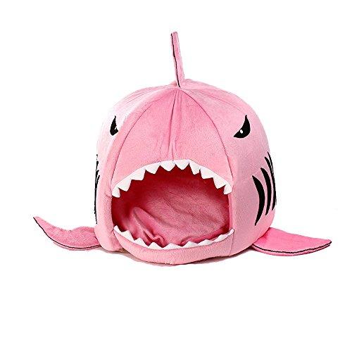 pet-bed-avec-mat-kineuni-colorfulhouse-shark-round-house-puppy-lit-avec-pet-mat-de-lit-m