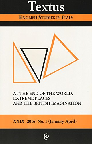 Textus. English studies in Italy (2016)
