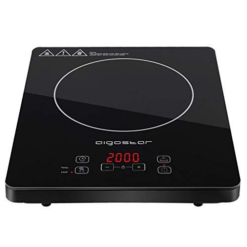 Aigostar Blackfire 30IAV - Placa inducción portátil