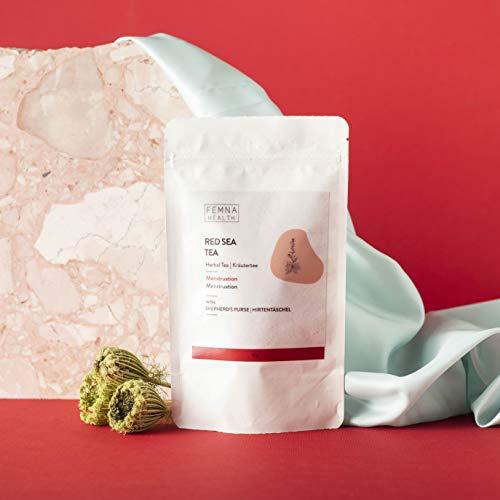 Red Sea Kräutertee - Kräutertee für Frauen für die Zeit der Menstruation | leichte Tage I FEMNA - die natürliche Alternative für Frauen 50 g