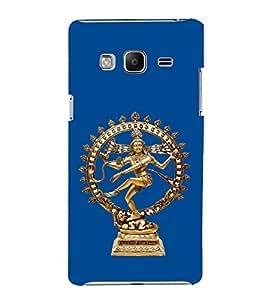 PrintVisa Lord Natraj Dance Rudra 3D Hard Polycarbonate Designer Back Case Cover for Samsung Galaxy Z3 Tizen :: Samsung Z3 Corporate Edition